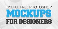 28 Useful Free Photoshop PSD Mockups for Designers