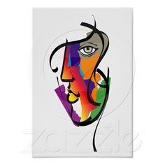 Rainbow face of woman, celebrating all colors, cultures, and orientations of women across the globe.