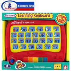 SCIENTIFIC TOUCH AND LEARN ALPHABET KEYBOARD