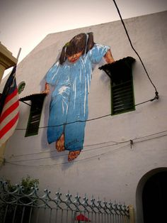 Ernest Zacharevic has a flair for keeping it real.