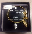 Authentic Alex And Ani Swan Expandable Bangle - Russian Gold - http://designerjewelrygalleria.com/alex-ani/authentic-alex-and-ani-swan-expandable-bangle-russian-gold/