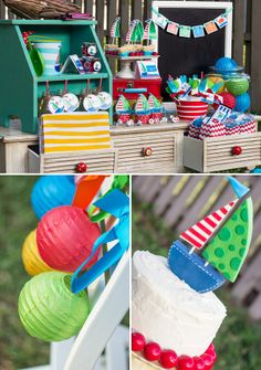Nautical Sailboat Birthday Party