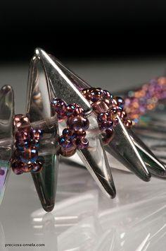 PRECIOSA Villa™ - Romana Tschunko | Flickr - Photo Sharing! preciosa ornela, beadsvip design, photo share, beadingwith spike, romana tschunko, preciosa villa, spike bead