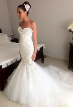18 Glamorous Wedding Dresses ‹ ALL FOR FASHION DESIGN
