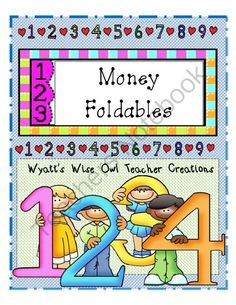 Money Foldables from Mrs. Wyatt's Wise Owl Teacher Creations on TeachersNotebook.com -  (52 pages)  - Money Foldables
