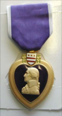 US Vietnam War Purple Heart Medal by TheMilitarizedZone on Etsy, $79.99