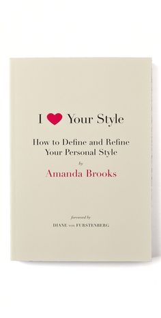 Books with Style  I Love Your Style $20