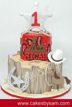 Cow boy Cake