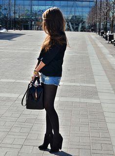 shorts and tights