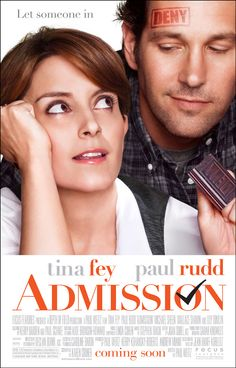 """Win advance-screening movie passes to """"Admission"""" with Tina Fey and Paul Rudd from the director of """"About a Boy"""" courtesy of HollywoodChicago.com! Win here: http://ptab.it/CXbS"""