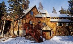 I spent many great ski weekends in this Sierra Club lodge.  Highly recommend.    Clair Tappaan Lodge - on old U.S. 40 near Norden, two miles east of Soda Springs.