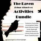 Download Edgar allan poe the raven worksheet pdf