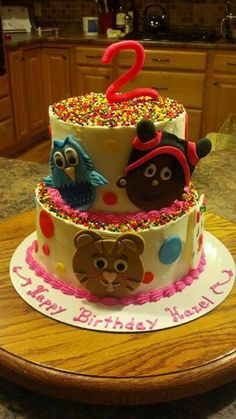 Birthday Cake Images For Daniel : Daniel Tiger on Pinterest Daniel Tiger Birthday, Daniel ...