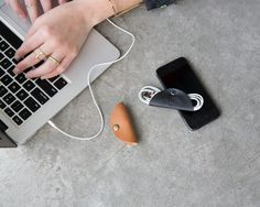 Cord Taco...keep your computer cords organized.