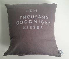 Ten Thousand Kisses Pillow