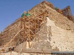 Unqualified Company Tasked with Restoration of Egypt's Oldest Pyramid.