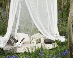 hippie hideaway, romant idea, idea decor, perfect place, backyard, life captur, decor outdoor, garden, picnic