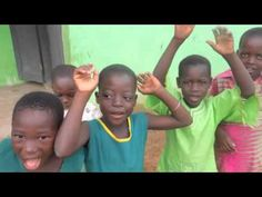 Kids in Ghana (Africa) Singing Stand Up and One Thing - One Direction!
