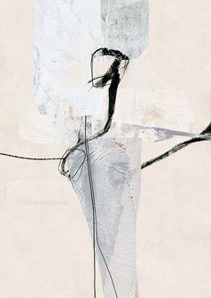 Sander Steins, Unaffected Episode, mixed media on fine art paper