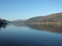 The Holy Loch, Loch Seanta in Gaelic, or charmed loch, may have been named when a ship on it's way to Glasgow with consecrated soil from the Holy Land stopped here. Then again...