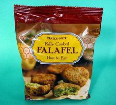 Trader Joe's Frozen Falafel.
