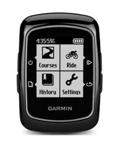 Garmin Edge 200 Bike Computer: Whether you're taking a joy ride or ready for a serious sweat session, this smart clip-on gadget tracks miles, calories, and speed. Plus, it logs previous rides to take the guesswork out of your cycling routine. gadget