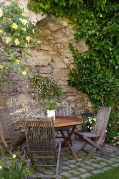garden spaces...