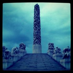 Vigeland - Oslo, Norway  This sculpture park was amazing