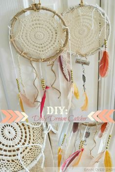 DIY: Doily Dream Catcher/Fawn Over Baby