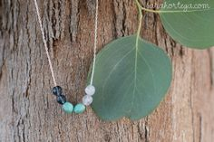 Sarah Ortega: diy {up-cycled necklace}