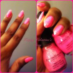 My home Valentine's Day Manicure | Manicure & Photo by NZINGHA