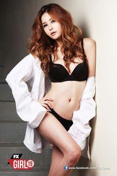 ♥♥♥ WOW! Super HOT racing girl ♥ Park Soyu ♥ for FX Korea~~