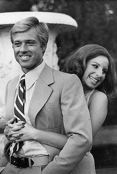Robert Redford & Barbara Streisand