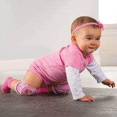 Slip Proof Baby Knee Pads for Crawling  $7.95 - getting these for Courtney