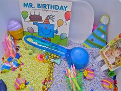 Birthday Sensory Tub