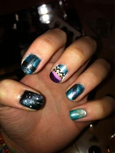 Nails by @Siobhan Sutherland    Are your nails more styled than your outfit? Do you have more art on your fingertips than your walls? Is your stash of polish taking over every cupboard in your house? Sounds like you could have an Obsessive Fashion Disorder.     Email us a picture of your nail designs to OFD@asos.com or tweet us a pic with the hashtag #ASOSOFD and the coolest, craziest and most creative pics will be to be diagnosed with OFD will be posted on the ASOS Pinterest.