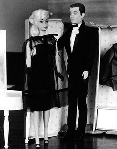 Vintage Barbie and Ken
