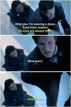Naughty Clara! ;D