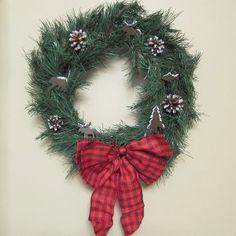 christmas wreaths, christma wreath, homemade wreaths, door, homemad wreath, gaudi christma, wreath craft