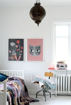 Posters by Audrey Jeanne via Mokkasin