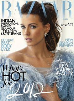 Kate Beckinsale Covers Bazaar.