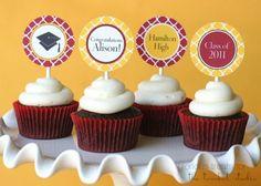 tomkat studio cupcake toppers, glorious treats cupcakes
