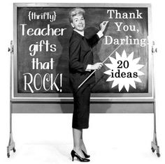 Teacher Appreciation Gifts - 20 Aweosme gifts that arent lame    As a teacher myself, I agree with everything in this article, so glad she wrote it!