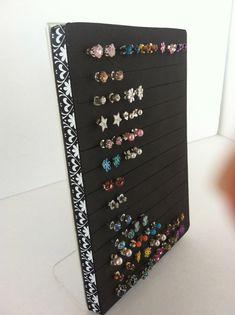 Post Earring Holder  Jewelry Organizer by NeverLostEarrings