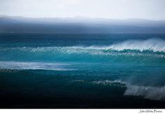 Wave breaking ~ Australia