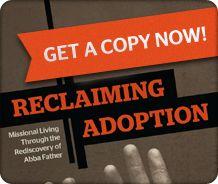 Reclaiming Adoption book