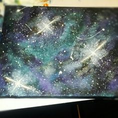 first galaxy painting