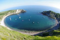 Picture perfect views for FREE #housesitting -Lulworth Cove,UK