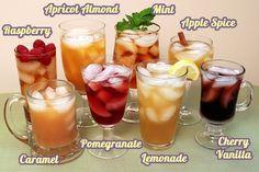 flavored iced tea recipes