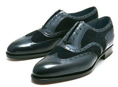 Edward Green's Midnight Colored Shoes